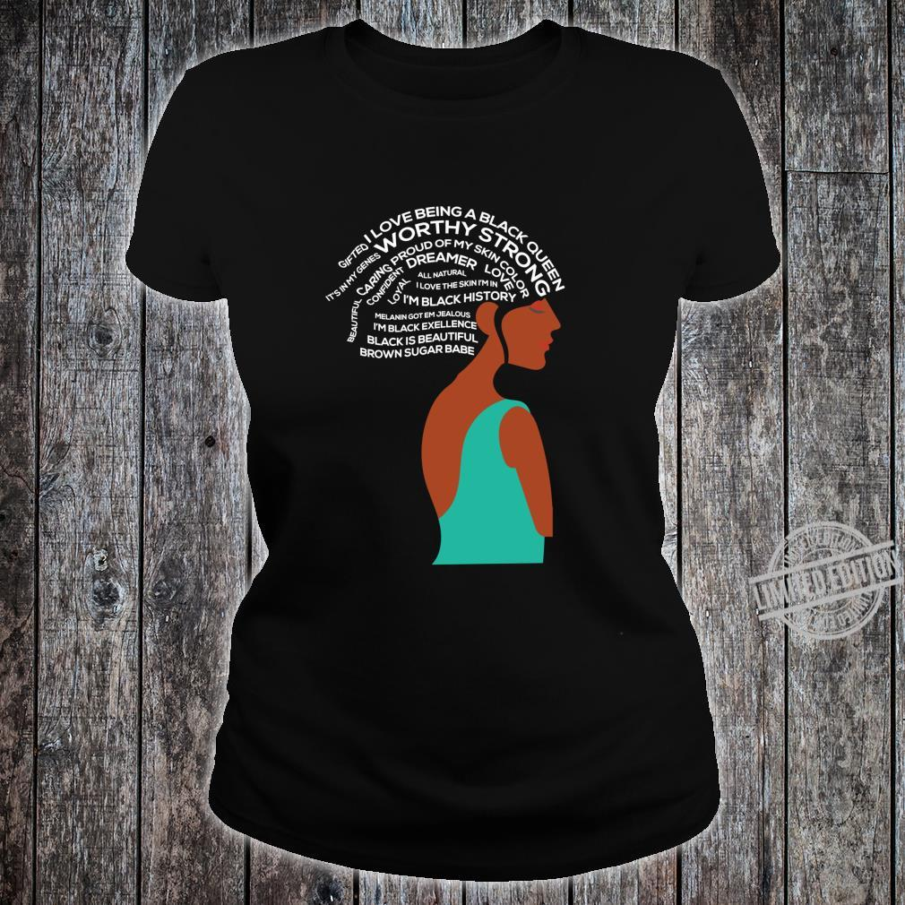 Women Empowerment Strong Black Special Shirt ladies tee