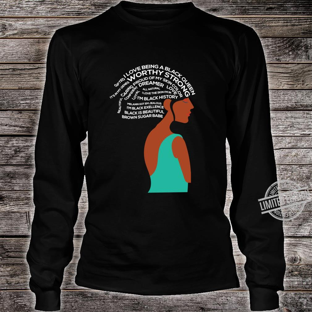 Women Empowerment Strong Black Special Shirt long sleeved