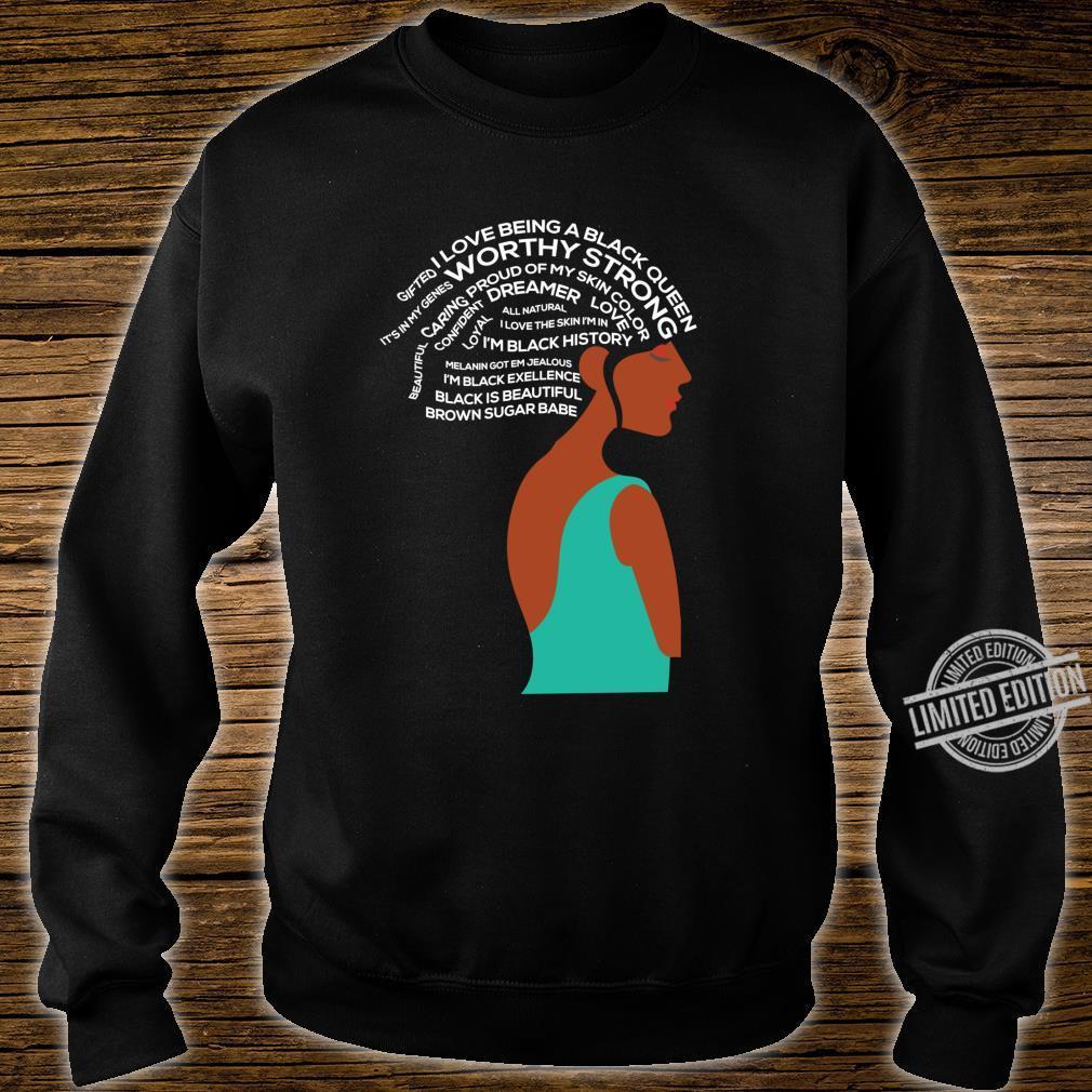 Women Empowerment Strong Black Special Shirt sweater