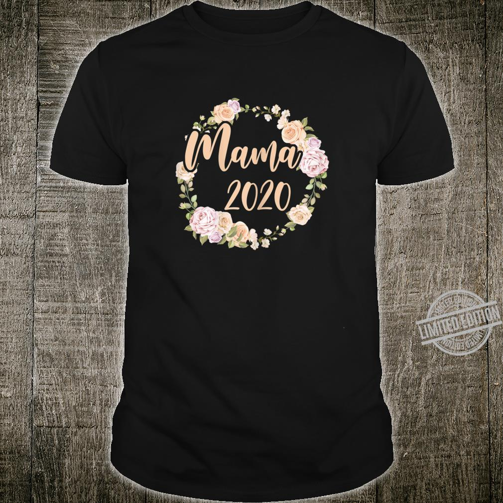 Women's Mum 2020 Pregnancy Mommy Mother Mom To Be Shirt