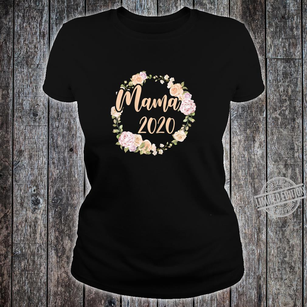 Women's Mum 2020 Pregnancy Mommy Mother Mom To Be Shirt ladies tee