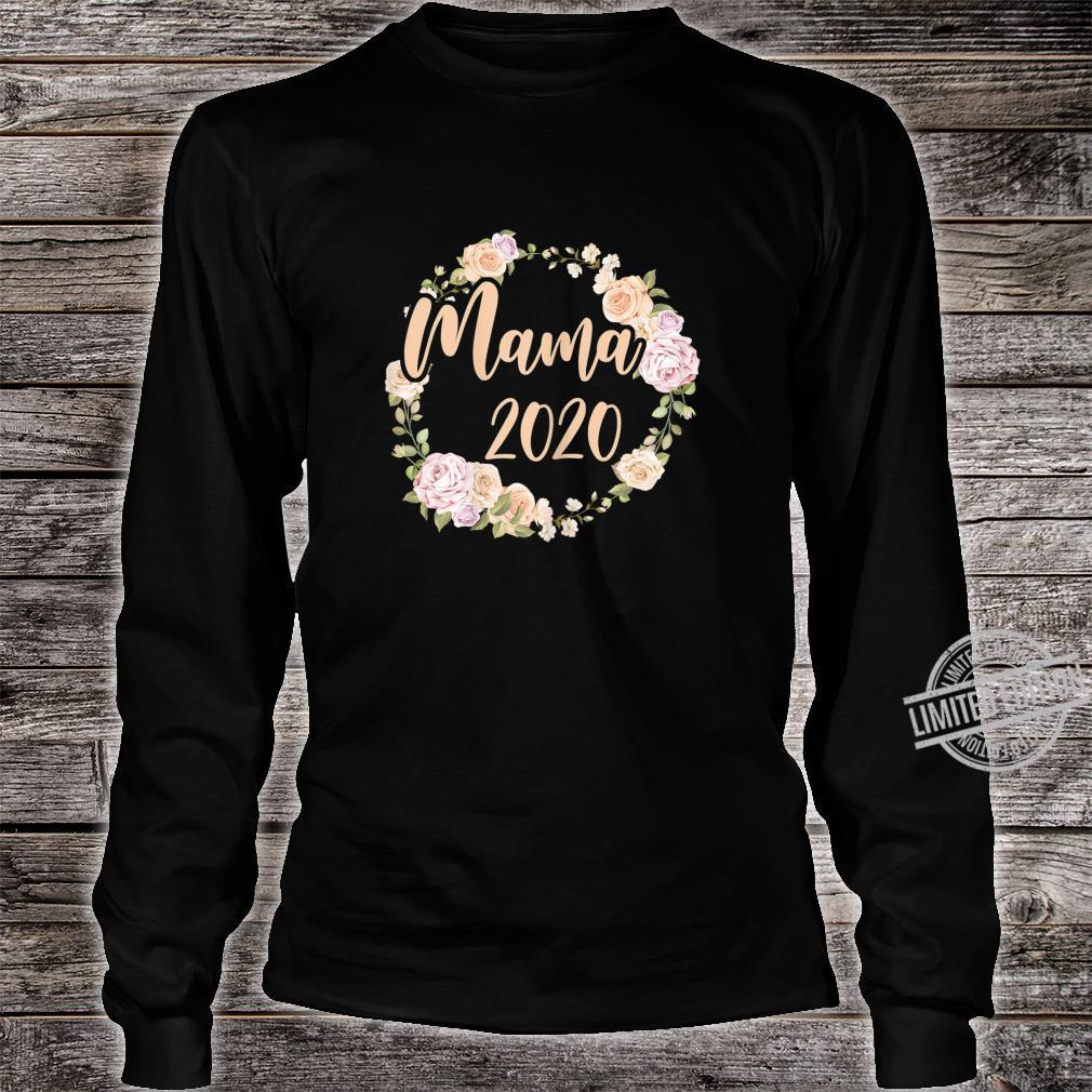 Women's Mum 2020 Pregnancy Mommy Mother Mom To Be Shirt long sleeved