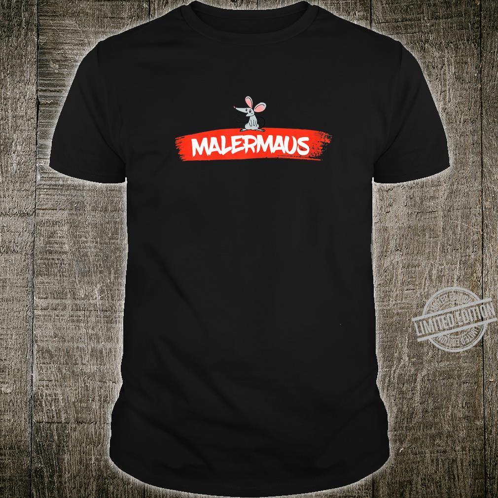 Women's Paintermaus Shirt with Painter Design Shirt