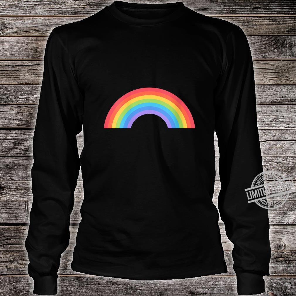 Womens Pride LGBT Gay Lesbian Rainbow Flag Pride Month Shirt long sleeved