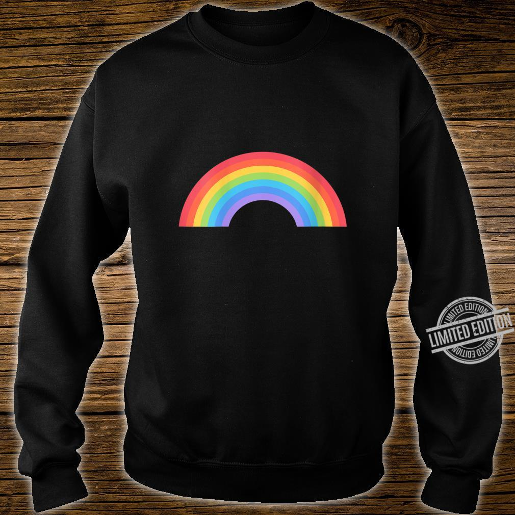 Womens Pride LGBT Gay Lesbian Rainbow Flag Pride Month Shirt sweater