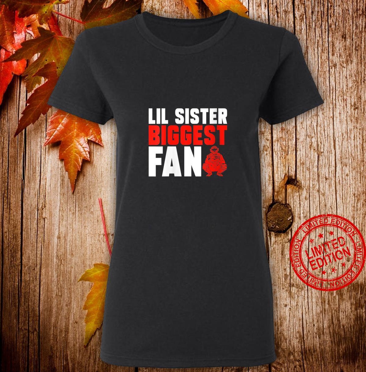 Womens Sister Brother Softball Baseball Catcher Shirt ladies tee