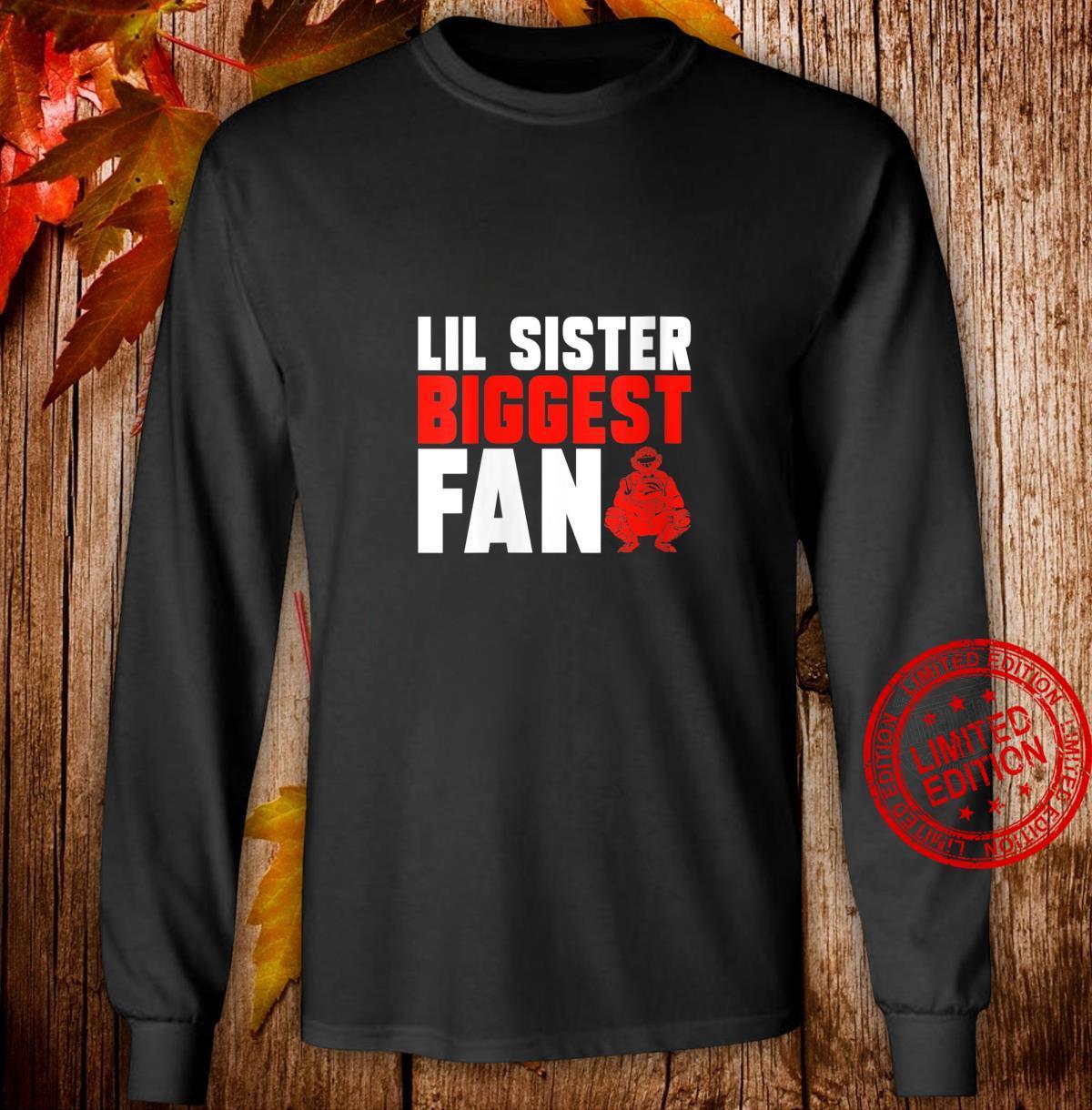 Womens Sister Brother Softball Baseball Catcher Shirt long sleeved