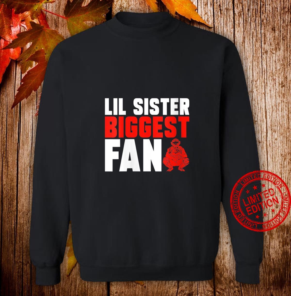 Womens Sister Brother Softball Baseball Catcher Shirt sweater